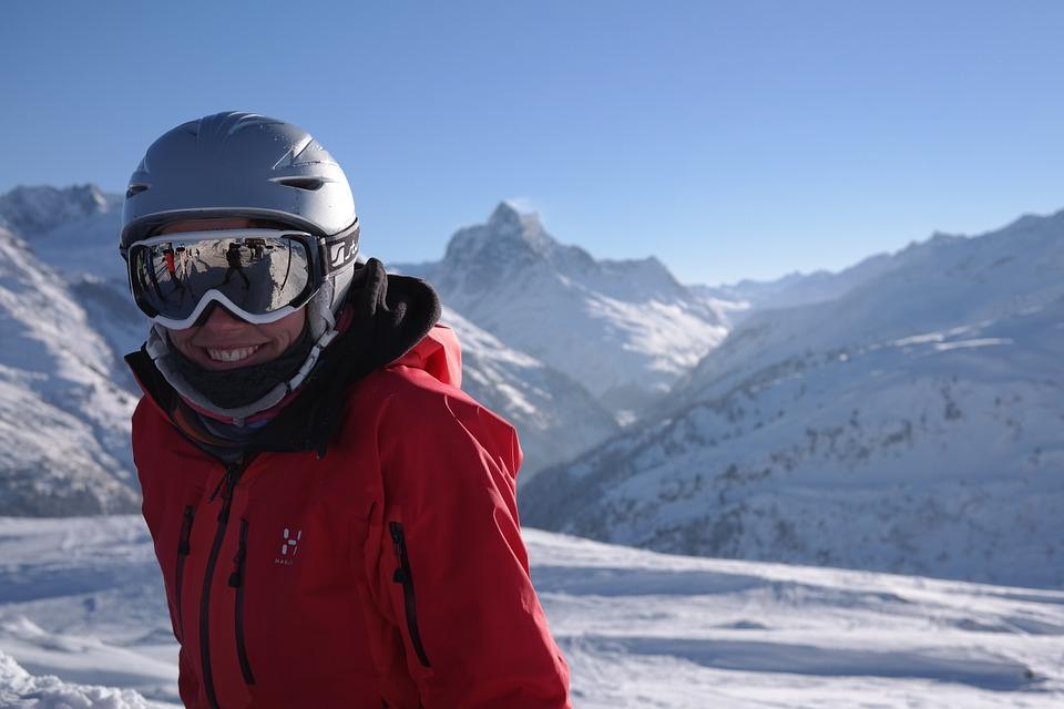 Życzenia dla narciarza