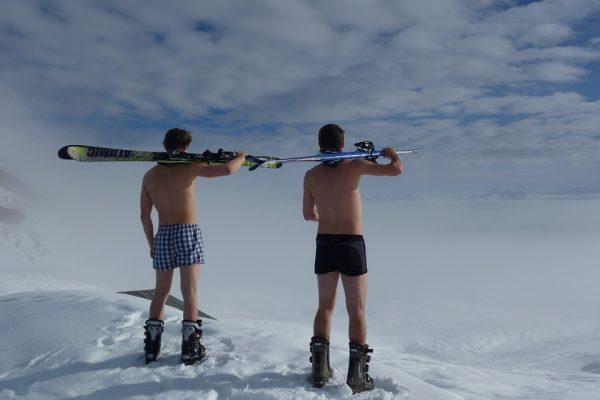 Smarowanie nart na gorąco