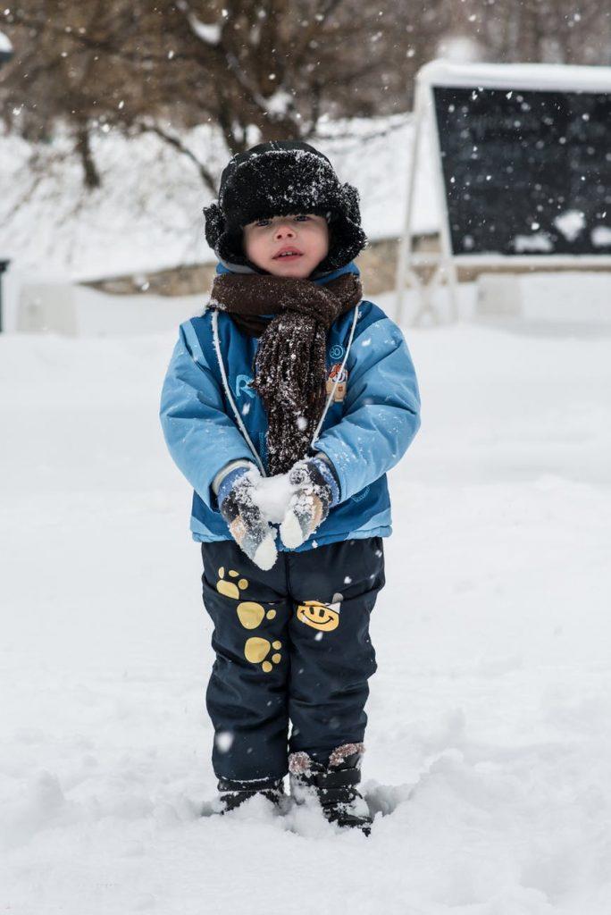 plastikowe narty dla dziecka